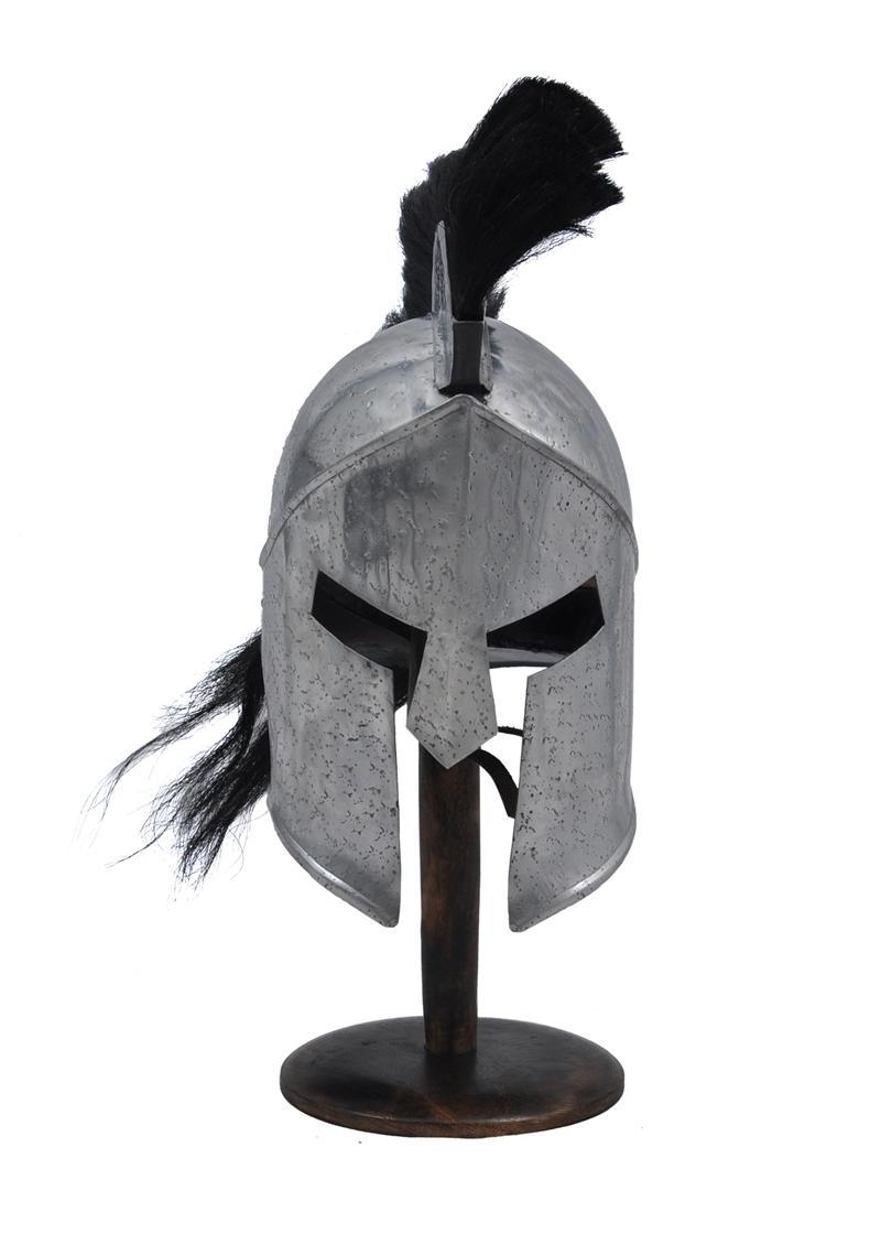300 spartan steel functional helmet roman armor 14 guage with
