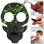 Zombie Uprising Radioactive Splatter Emergency Key Chain