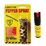 Cheetah Keychain Personal Defense Pepper Spray OC-18 1/2 oz With Case