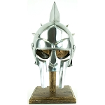 Gladiator Maximus Roman Spiked Helmet 18 Gauge Steel