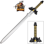 Foam Padded Master Dark Link Shadow Triforce Sword Cosplay LARP