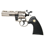 Kimar PYTHON Nickel Finish 9mm Blank Firing Revolver