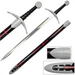 Knights Templar Medieval Sword With Scabbard
