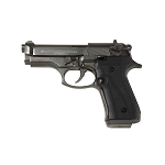 Jackal Compact Black Finish - Full Auto Front Fire Blank Flare Gun