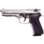 Jackal Full Automatic Front Fire Blank Flare Gun Nickel Finish