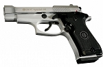 Special 99 V85 Front Fire Blank Flare Gun Replica Nickel Finish