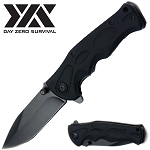 Day Zero Survival Spring Assisted Open Pocket Knife Tactical Combat
