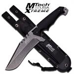 Stone Micarta Handle Big Tactical Fixed Blade Battle Knife 11.75