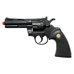 Kimar PYTHON Black Finish 9mm Front Firing Blank Revolver
