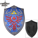 Blue Foam Zelda Hylian Cosplay Shield
