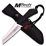 MTech USA Fixed Blade Military Style Tactical Chopper Knife