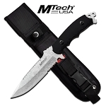MTech USA Fixed Blade Hunting Knife Tactical Combat Outdoor