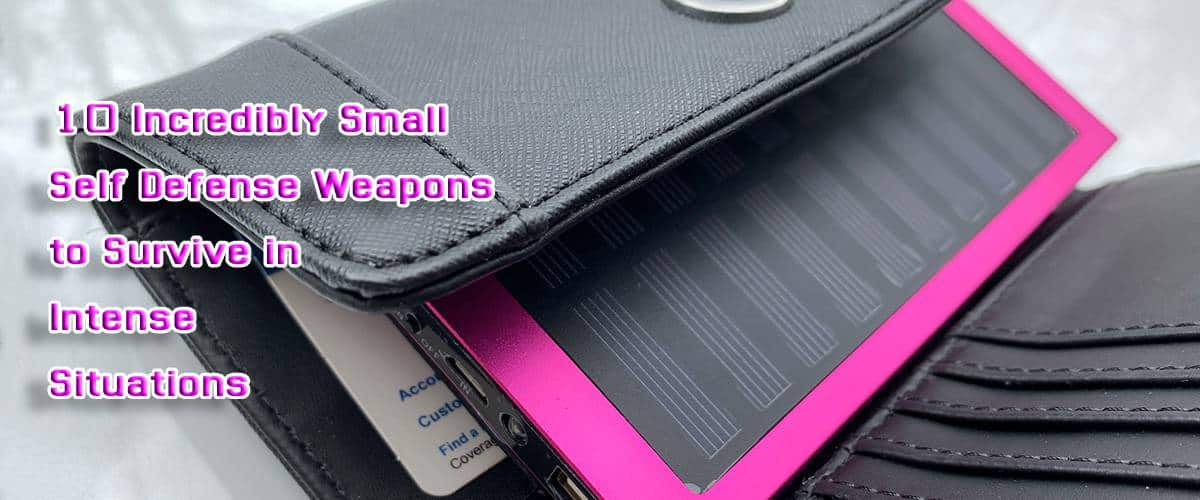 small self defense weapons