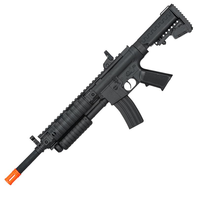 Airsoft Pump Action Tactical Spring Shotgun Rifle With ...