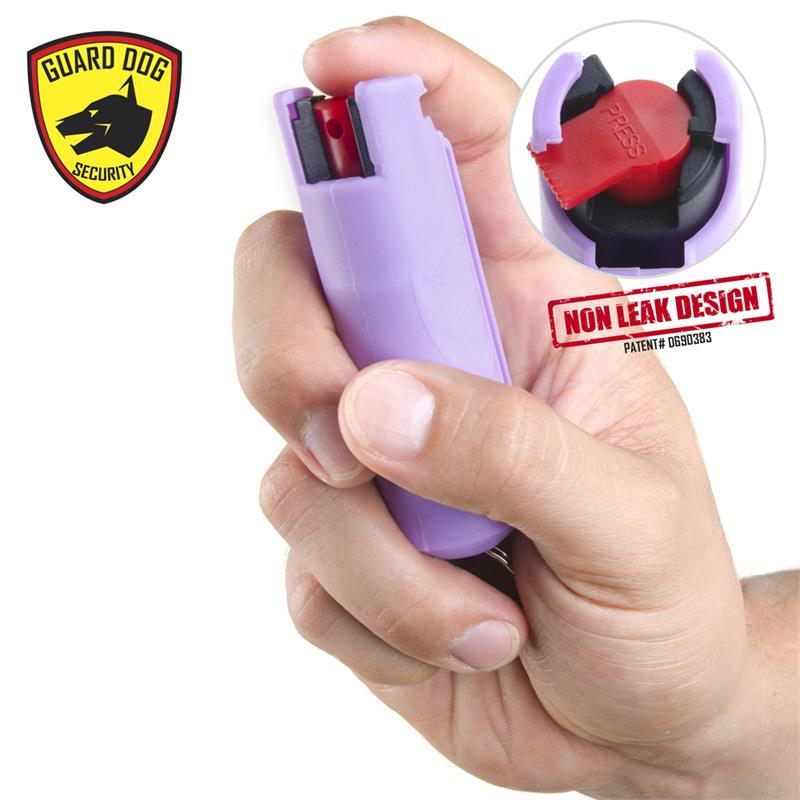 Pepper Spray Keychain with belt clip