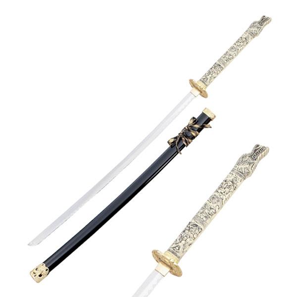 Duncan Macleod Black Closed Mouth Dragon Sword