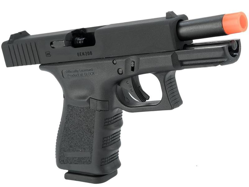 Officially Licensed GLOCK 19 Gas Blowback Airsoft Gun Pistol Metal Slide