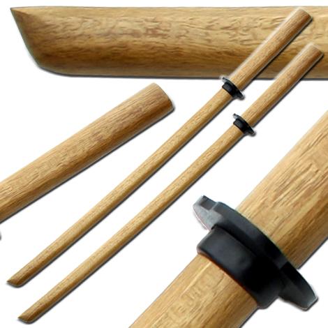 Bokken Kendo Brown Practice Sword Cosplay