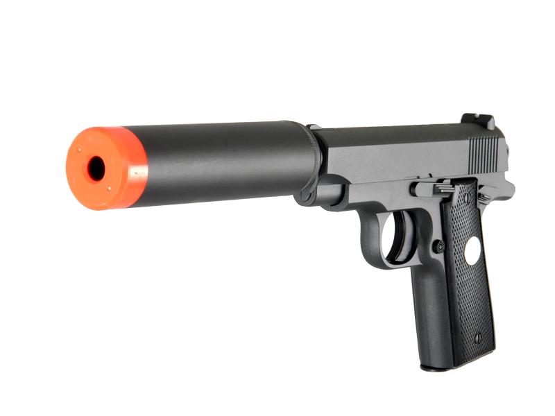 all new g2a full metal airsoft handgun bbs pistol with silencer