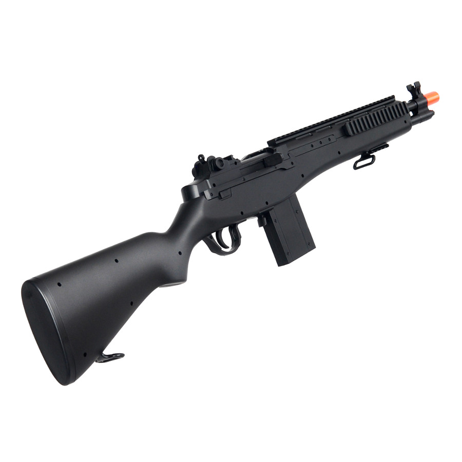 M14 Socom Airsoft Gun Spring Powered Sniper Rifle with Rail System