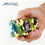 Camo Monster 18 Million Volt Rechargeable Stun Gun - LED Light