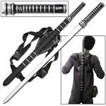 Fantasy Blood Warrior Sword Day Walker Blade With Back Strap