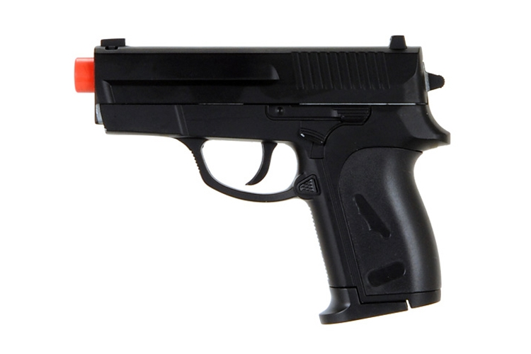CYMA ZM01B Full Metal Spring Airsoft Pistol Black