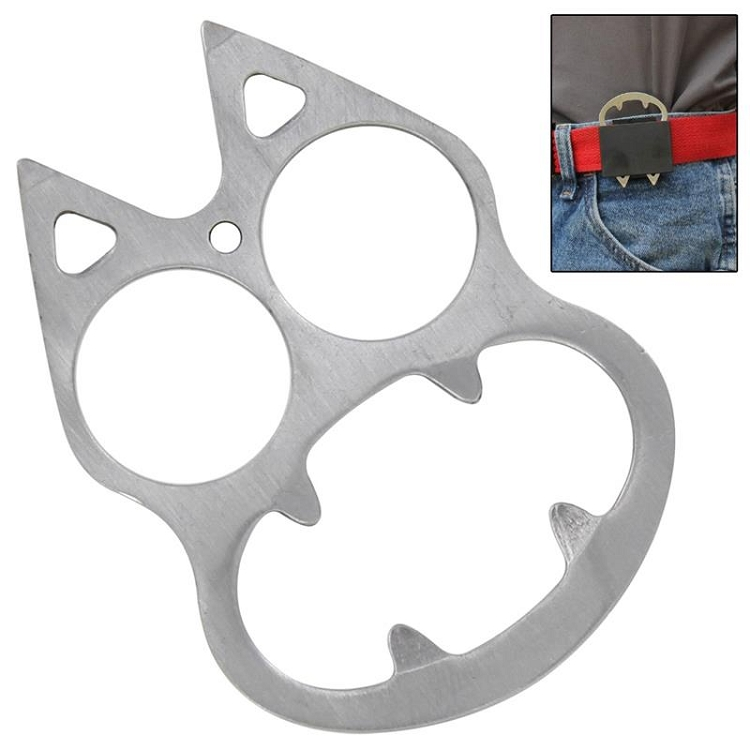 Feline Silver Screen Personal Protection Knuckle