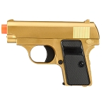 Full Metal Slide and Body Subcompact Spring Vest Pocket Airsoft Pistol