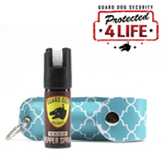 Personal Defense Pepper Spray OC-18 1/2 oz Fireista Teal Mediterranean