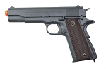 Colt 1911 CO2 Full Metal Blowback Airsoft Pistol, Parkerized Finish Grey