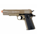Licensed Colt M1911 A1 Spring Airsoft Pistol With Metal Slide FPS-345