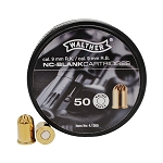 Walther Revolver Half Load Blank Cartridges 9MM RK 50 Cartridges Crimped