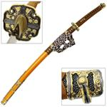 Japanese Tachi Ceremonial Katana Hardened Samurai Sword Functional