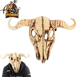 Cow Skull Mask - For The Love Of Beef