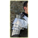 Steel Warrior Pauldrons Medieval Shoulder Functional Armor Set