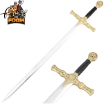 Foam Padded Mason Knights Templar Crusader WarFoam Sword Costume Prop Cosplay