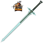 WarFoam Kirito s Dark Repulser SAO Foam Sword Cosplay Costume LARP