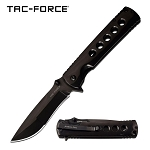 Tac-Force Spring Assisted Folding Pocket Knife Black