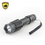 Security Escort Tactical Stun Gun Flashlight, Maximum Voltage, Rechargeable