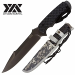 Sharp Full Tang Camping Survival Hunting Fixed Blade Knife 12.2 Inch Overall