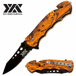 Tactical Survival Knife - An Outdoor Rescue Pocket Knife