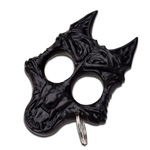 Black Wolf Self Defense Keychain Knuckle