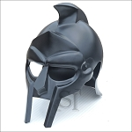 Rhino Armor Black Gladiator Warrior Helmet