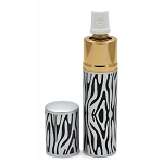 Black Zebra Print Lipstick Pepper Spray Women Discreet For Personal Security