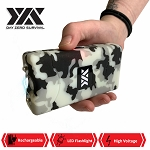 DZS 10 Million Volt Self Defense Snow Camo Stun Gun Rechargeable