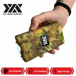 DZS 10 Million Volt Self Defense Fall Camo Stun Gun Rechargeable
