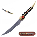 Brandon's Bane Ancient Warrior Fantasy Dagger With Wall Plaque