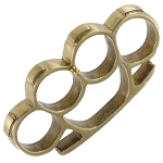 Real Brass Fist Duster Paper Weight Knuckle Buckle