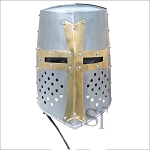 Brass Crusader Great Knights Helmet